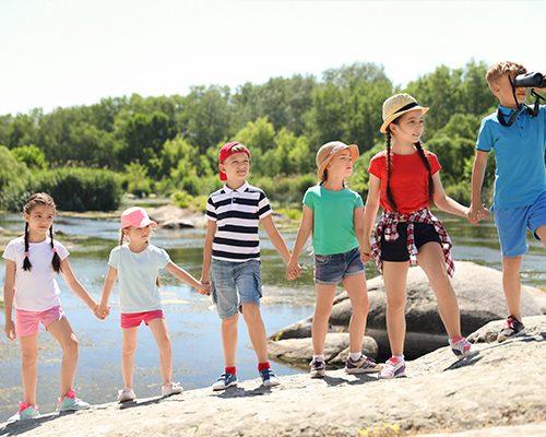 Kolonie dla dzieci i młodzieży (jezioro i morze)